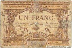 1 Franc FRANCE régionalisme et divers Angers 1915 JP.008.07 B