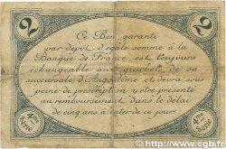 2 Francs FRANCE régionalisme et divers ANGOULÊME 1915 JP.009.22 B+