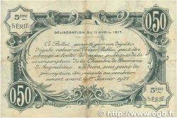50 Centimes FRANCE régionalisme et divers ANGOULÊME 1917 JP.009.40 TB