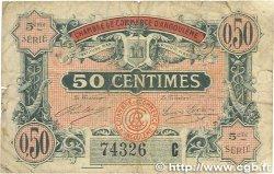 50 Centimes FRANCE régionalisme et divers Angoulême 1917 JP.009.40 B+