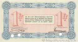 1 Franc FRANCE régionalisme et divers Annecy 1915 JP.010.03 NEUF