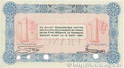 1 Franc FRANCE régionalisme et divers  1915 JP.010.03var. pr.NEUF