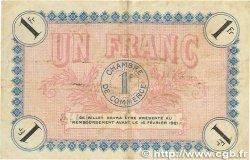1 Franc FRANCE régionalisme et divers AUXERRE 1916 JP.017.08 TB