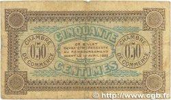 50 Centimes FRANCE régionalisme et divers AUXERRE 1917 JP.017.14 B