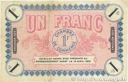 1 Franc FRANCE régionalisme et divers AUXERRE 1920 JP.017.26 TTB
