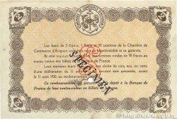 2 Francs FRANCE régionalisme et divers  1915 JP.018.12var. TTB