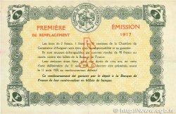 1 Franc FRANCE régionalisme et divers Avignon 1915 JP.018.17 TTB