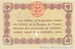 50 Centimes FRANCE régionalisme et divers Bar-Le-Duc 1918 JP.019.02 pr.NEUF