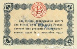 1 Franc FRANCE régionalisme et divers Bar-Le-Duc 1918 JP.019.05 pr.SPL
