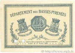 1 Franc FRANCE régionalisme et divers Bayonne 1915 JP.021.11 TTB