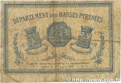 2 Francs FRANCE régionalisme et divers BAYONNE 1916 JP.021.36 B+