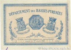 2 Francs FRANCE régionalisme et divers BAYONNE 1916 JP.021.36 SUP+