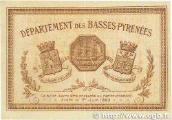 1 Franc FRANCE régionalisme et divers BAYONNE 1918 JP.021.59 TTB