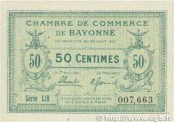 50 Centimes FRANCE régionalisme et divers Bayonne 1921 JP.021.69 pr.NEUF