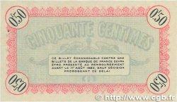 50 Centimes FRANCE régionalisme et divers BESANçON 1915 JP.025.01 TTB+