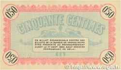 50 Centimes FRANCE régionalisme et divers BESANçON 1915 JP.025.01 SPL