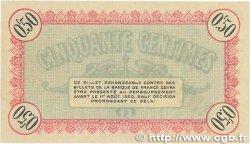 50 Centimes FRANCE régionalisme et divers Besançon 1915 JP.025.03 SPL