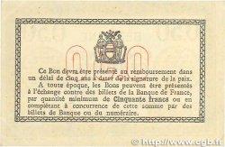 50 Centimes FRANCE régionalisme et divers Béthune 1915 JP.026.03 TTB+