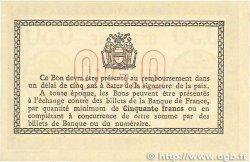 50 Centimes FRANCE régionalisme et divers Béthune 1915 JP.026.03 pr.NEUF