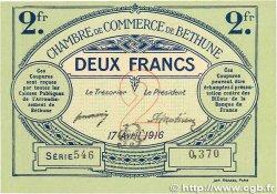 2 Francs FRANCE régionalisme et divers Béthune 1916 JP.026.19 pr.NEUF