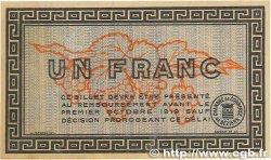 1 Franc FRANCE régionalisme et divers BÉZIERS 1914 JP.027.08 TTB