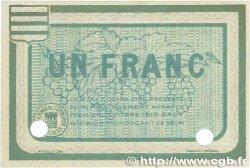 1 Franc FRANCE régionalisme et divers BÉZIERS 1915 JP.027.12 SPL