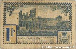 1 Franc FRANCE régionalisme et divers Béziers 1922 JP.027.34 B+