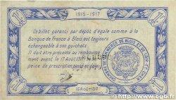 1 Franc FRANCE régionalisme et divers BLOIS 1915 JP.028.04 TTB