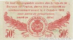 50 Centimes FRANCE régionalisme et divers BLOIS 1916 JP.028.05 TTB+