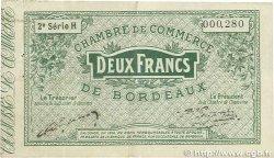 2 Francs FRANCE régionalisme et divers Bordeaux 1914 JP.030.09 TTB
