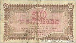 50 Centimes FRANCE régionalisme et divers Bordeaux 1917 JP.030.11 TB