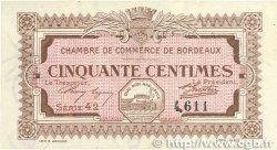 50 Centimes FRANCE régionalisme et divers BORDEAUX 1917 JP.030.11 SUP+