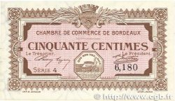 50 Centimes FRANCE régionalisme et divers BORDEAUX 1917 JP.030.11 pr.SPL