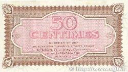 50 Centimes FRANCE régionalisme et divers Bordeaux 1917 JP.030.11 SPL