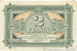 2 Francs FRANCE régionalisme et divers Bordeaux 1917 JP.030.17 TTB