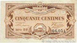 50 Centimes FRANCE régionalisme et divers BORDEAUX 1917 JP.030.20 TTB