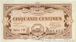 50 Centimes FRANCE régionalisme et divers Bordeaux 1917 JP.030.20 SUP+