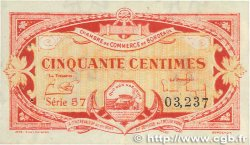 50 Centimes FRANCE regionalism and various BORDEAUX 1920 JP.030.24 XF