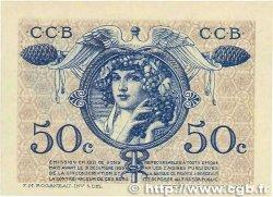 50 Centimes FRANCE régionalisme et divers BORDEAUX 1921 JP.030.28 NEUF