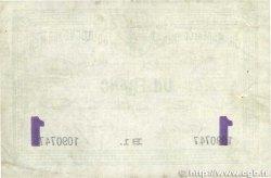 1 Franc FRANCE régionalisme et divers BOULOGNE-SUR-MER 1914 JP.031.24 TB