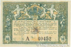 50 Centimes FRANCE régionalisme et divers Bourges 1915 JP.032.01 SUP
