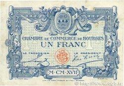1 Franc FRANCE régionalisme et divers Bourges 1917 JP.032.09 TB