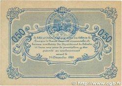 50 Centimes FRANCE régionalisme et divers CAEN et HONFLEUR 1915 JP.034.04 pr.TTB