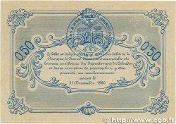 50 Centimes FRANCE régionalisme et divers CAEN et HONFLEUR 1915 JP.034.05 SPL