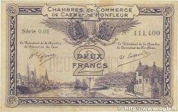 2 Francs FRANCE régionalisme et divers Caen et Honfleur 1915 JP.034.10 TTB