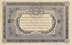 2 Francs FRANCE régionalisme et divers Caen et Honfleur 1915 JP.034.11 TTB
