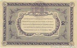 2 Francs FRANCE régionalisme et divers Caen et Honfleur 1915 JP.034.11 TTB+