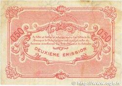 50 Centimes FRANCE régionalisme et divers CAEN et HONFLEUR 1918 JP.034.12 TB