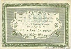 1 Franc FRANCE régionalisme et divers CAEN et HONFLEUR 1918 JP.034.14 TTB