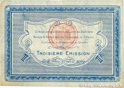 1 Franc FRANCE régionalisme et divers Caen et Honfleur 1920 JP.034.18 TB